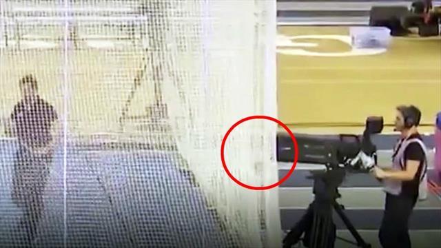 Ups! Kugelstoß-Europameister macht Kamera kaputt