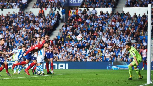 Un doublé de Morata et l'Atlético s'accroche