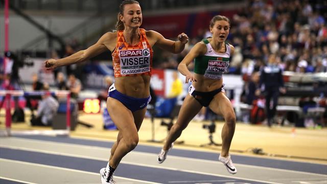 EK Indoor | Goud voor Nadine Visser op 60 meter horden