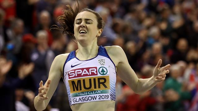 Laura Muir claims stunning double-double with 1500m gold