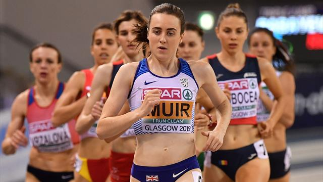 Report - Remarkable Muir does the double with dominant 1500m win as medals flow for Great Britain