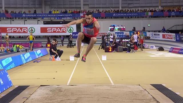 Ek Indoor | Babayev wint goud hink-stap-sprong