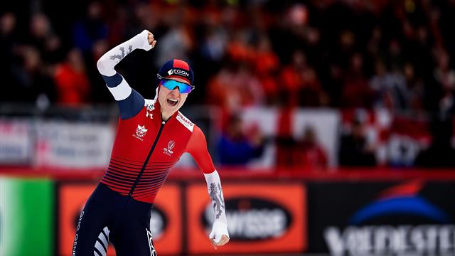 Sablikova smashes speed skating world record to clinch gold