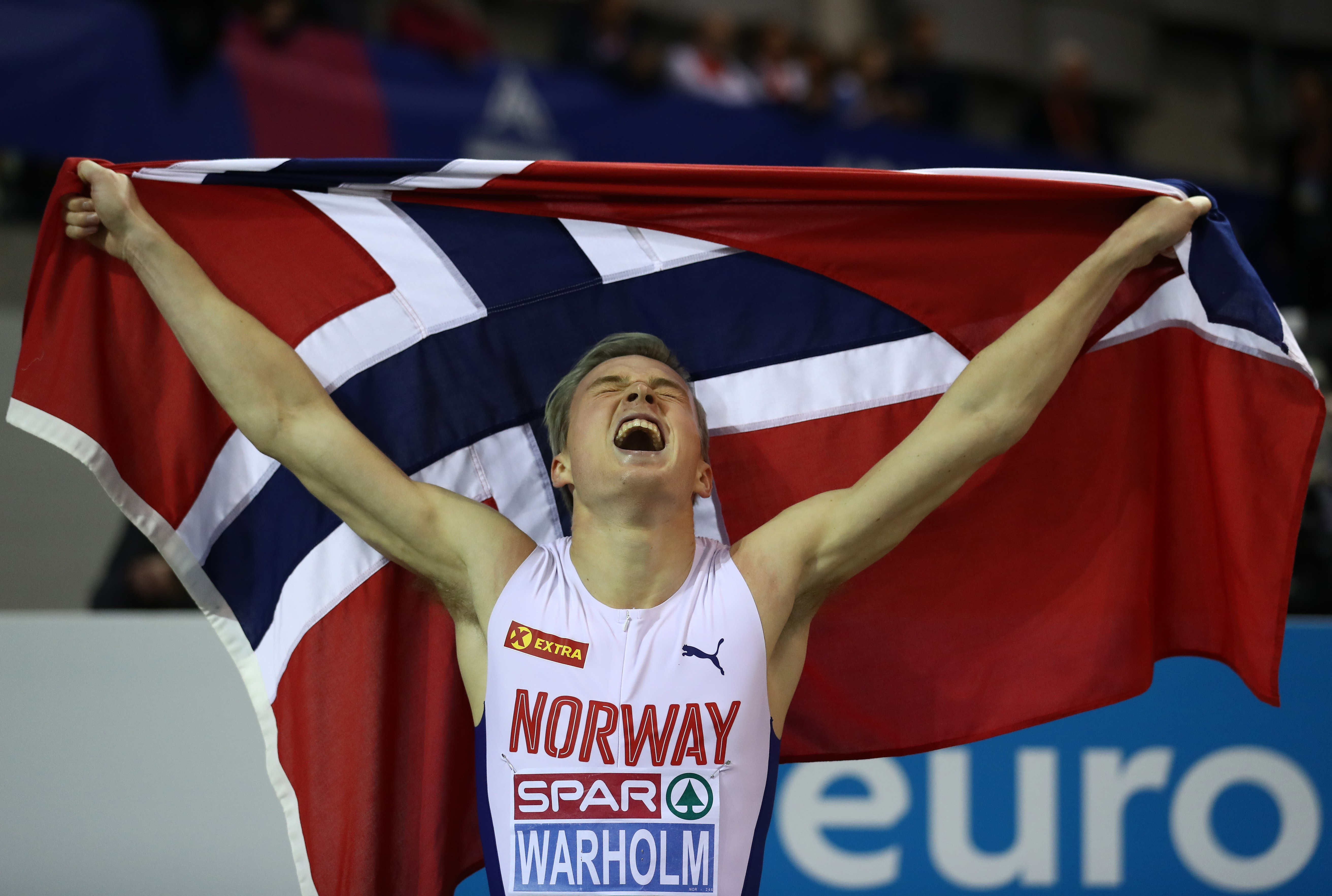 Kastern Warholm (Glasgow 2019 Avrupa Salon Atletizm Şampiyonası)