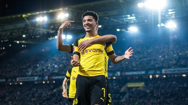 Jadon Sancho told to work hard by Borussia Dortmund boss Lucien Favre