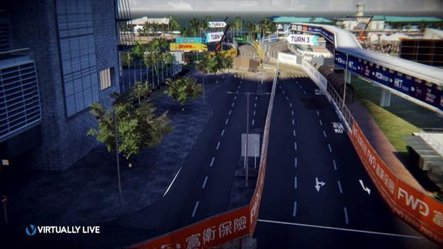 Fórmula E: Así es el circuito de Hong Kong, donde D'Ambrosio busca reforzar su liderato