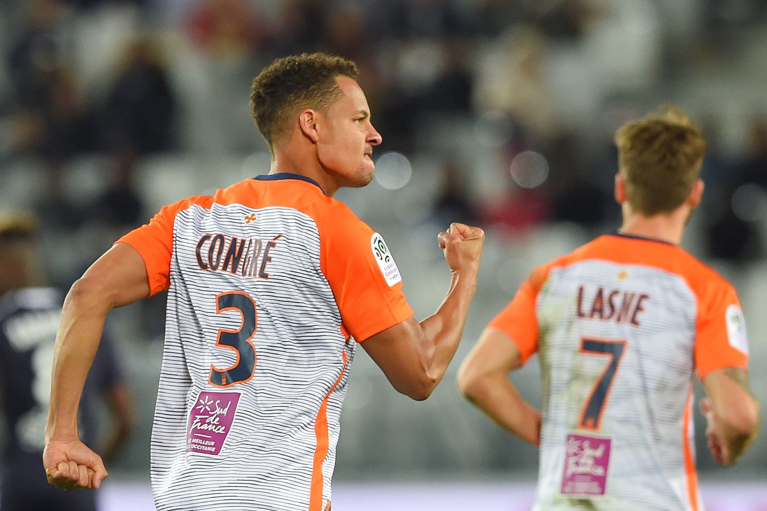 Daniel Congré lors de Bordeaux-Montpellier / Ligue 1