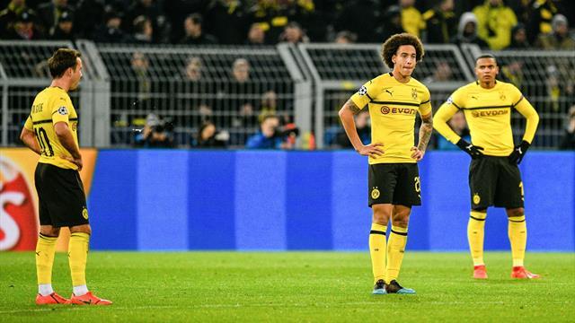 Le cauchemar continue pour Dortmund