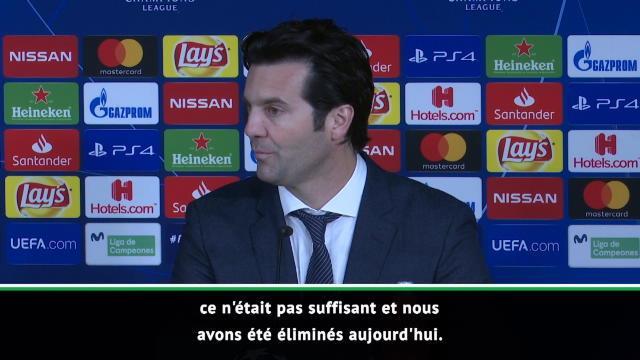 "Solari : ""Le Real revient toujours plus fort"""
