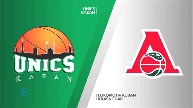 EuroCup highlights: UNICS Kazan 86-66 Lokomotiv Kuban Krasnodar
