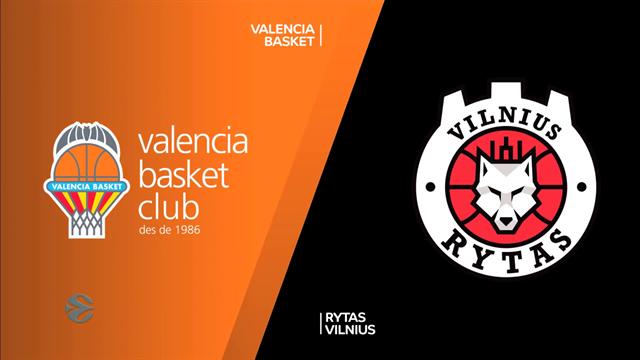 Highlights: Valencia Basket 75-64 Rytas Vilnius