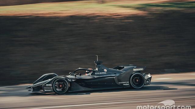 Porsche shakes down Formula E development car
