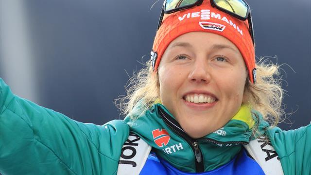 """Dahlmeier zurück zum Biathlon: """"Freue mich, dass es nächste Woche losgeht"""""""