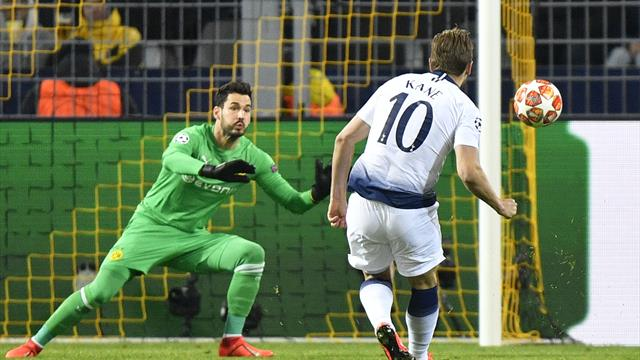 Spurs cruise into UCL quarter-finals as Kane creates history