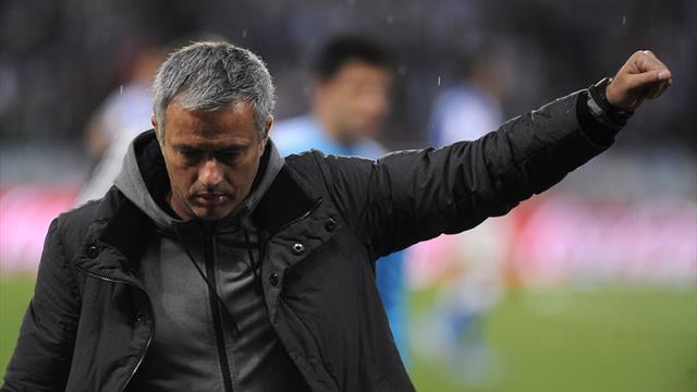 Фанаты «Реала» скандировали имя Моуринью после поражения от «Аякса»