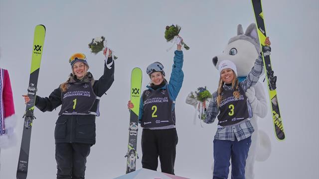 5e journée des Universiades d'Hiver de Krasnoïarsk : 3 nouvelles médailles pour les Bleus