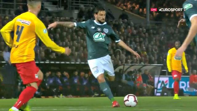 La patte gauche de Boschilia a fait mouche : l'ouverture du score de Nantes en vidéo