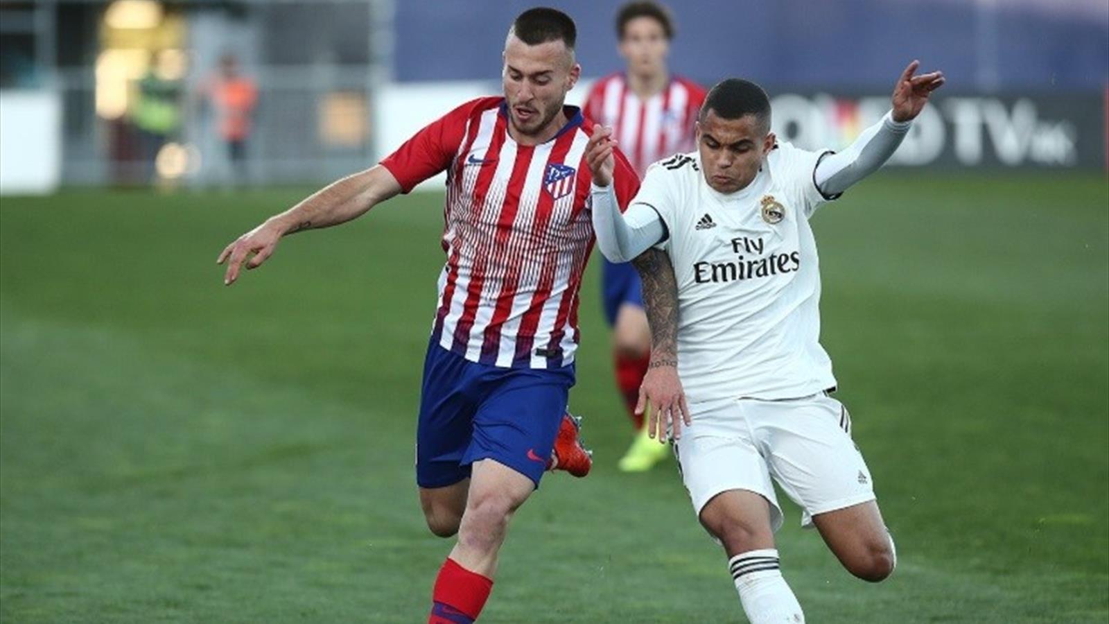 El Madrid se lleva el derbi de la Youth League ante un Atleti que terminó  con nueve (1-2) 70516586ee1ea