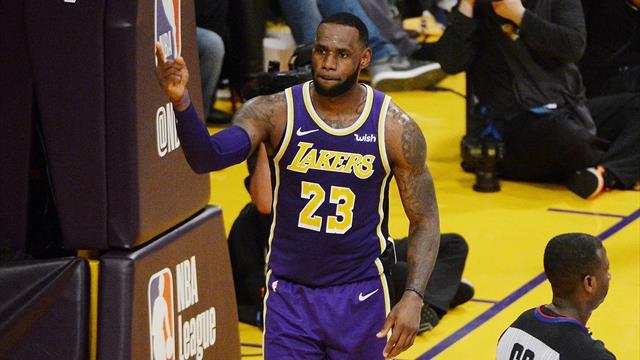 C'est presque fini pour les Lakers mais LeBron a dépassé Jordan