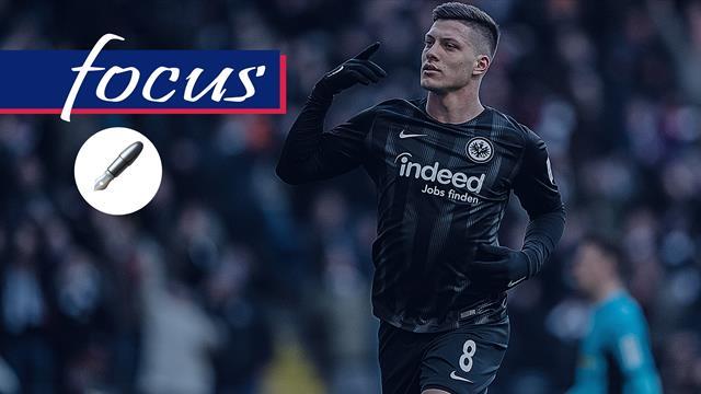 Inter, attenzione a Luka Jovic: il bomber scoperto da Rui Costa ed esploso con Kovac e Hütter