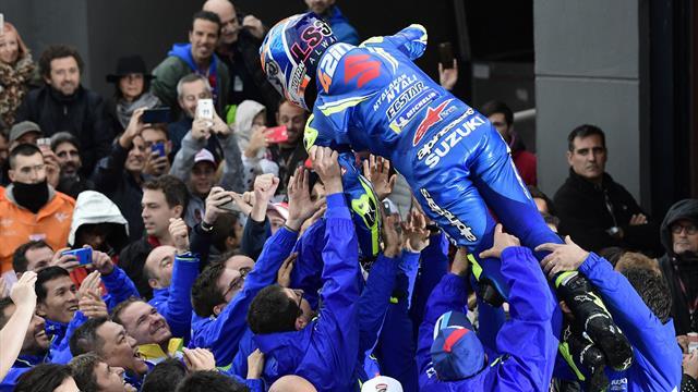 Le pagelle: superbo Rins, Marquez beffato ancora. Viñales surclassa Rossi