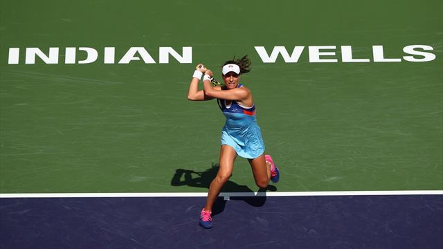 Konta, Azarenka cruise into second round at Indian Wells