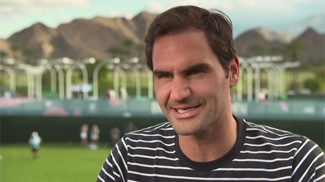 Federer delighted to have 100th title 'off his back'