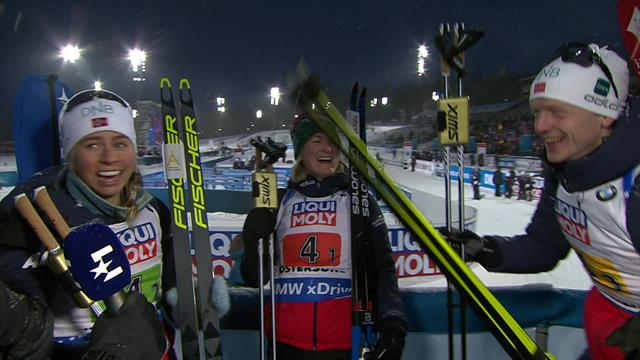 Norway interview - Boe drops skis as team reflect on victory