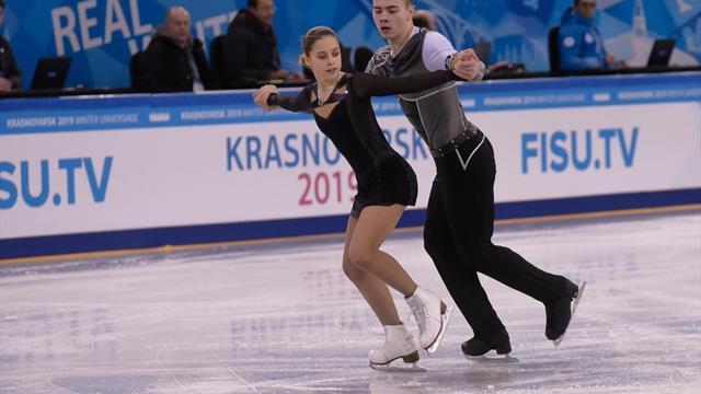 Universiades d'hiver : Galyavieva et Thauron ont la médaille dans le viseur
