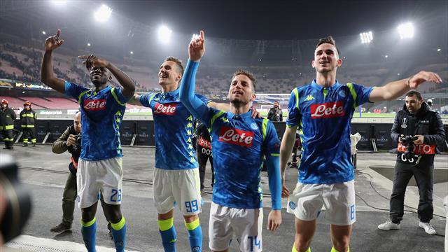Round-up - Napoli hammer Salzburg, Villarreal pick up crucial Russia win