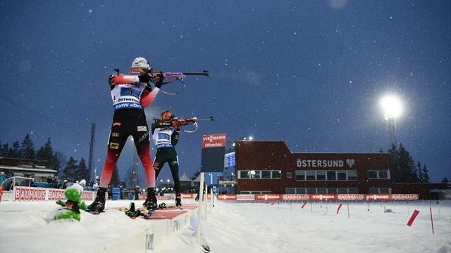 WK Ostersund   Noorwegen pakt eerste goud WK met mixed relay