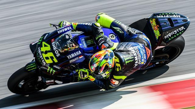 MotoGP | Rossi snelste in eerste vrije training Qatar