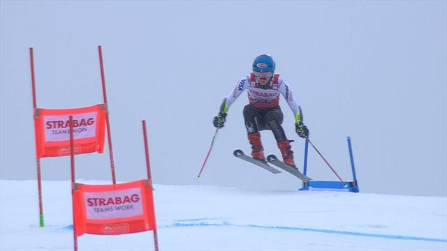 'What a ski!' - Shiffrin screams in delight after superb second run in Giant Slalom