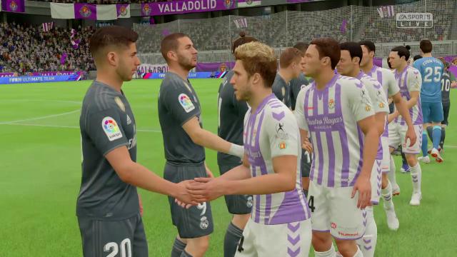 Liga Virtual: Así ha quedado el Valladolid-Madrid