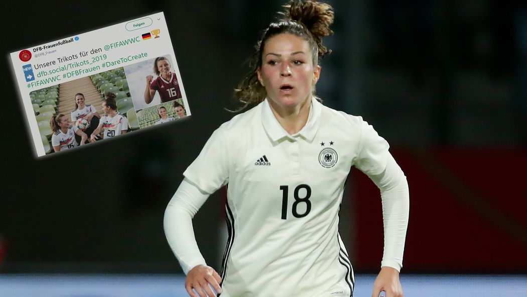 new style 85b9d e6e44 Frauen-Nationalmannschaft: Neues Trikot für DFB-Team im ...