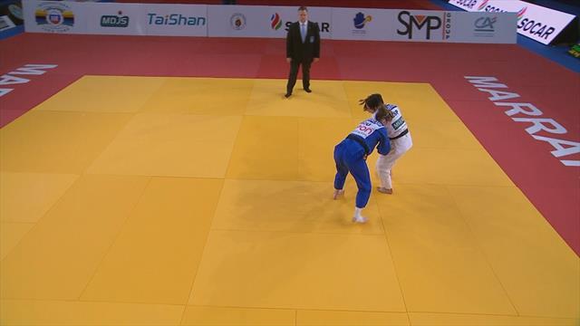 World Judo Tour: Julia Figueroa se impone brillantemente en Marrakech en -48 kilos