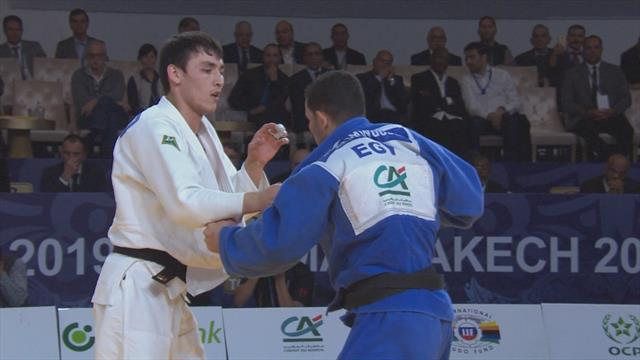Nurillaev claims gold with Abdelmawgoud win in Morocco