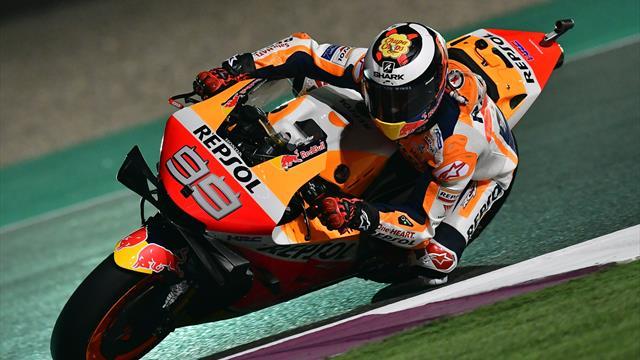 MotoGP in Katar: Márquez glänzt mit Rundenrekord