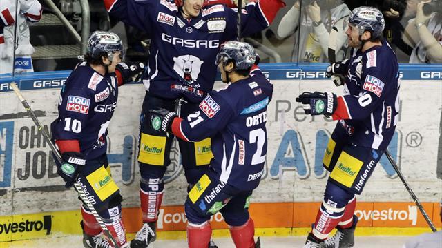 DEL: Eisbären Berlin im Viertelfinale