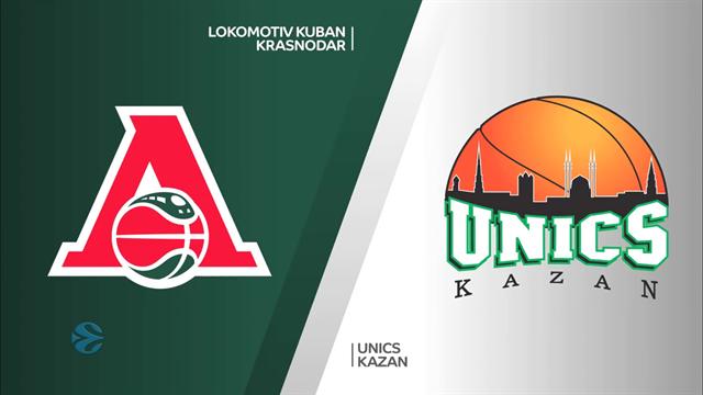 Quarti gara 2, highlights: Lokomotiv Kuban Krasnodar-Unics Kazan 68-59
