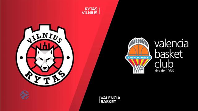 EuroCup: Rytas Vilnius 56-71 Valencia Basket