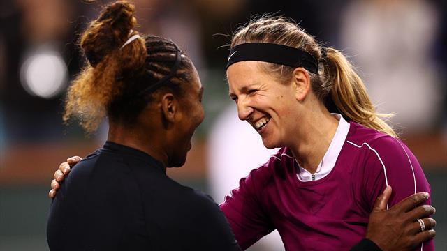 Serena sees off Azarenka in Indian Wells classic