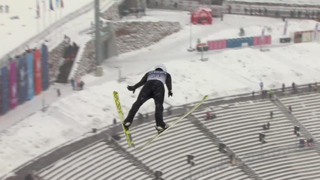Go Yamamoto's winning jump in Oslo