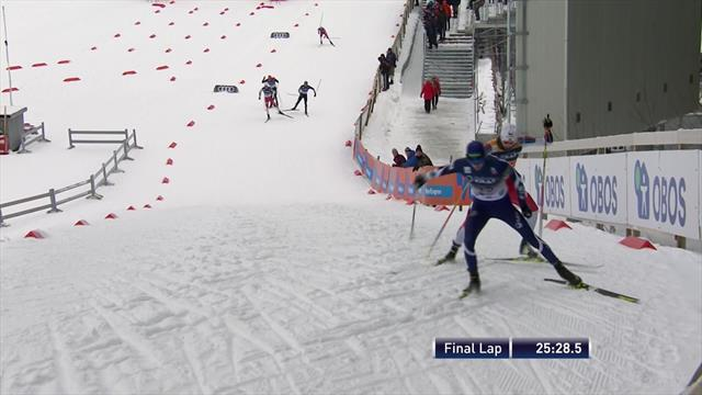 Riiber pips Herola to 10km victory in Nordic Combined in Oslo