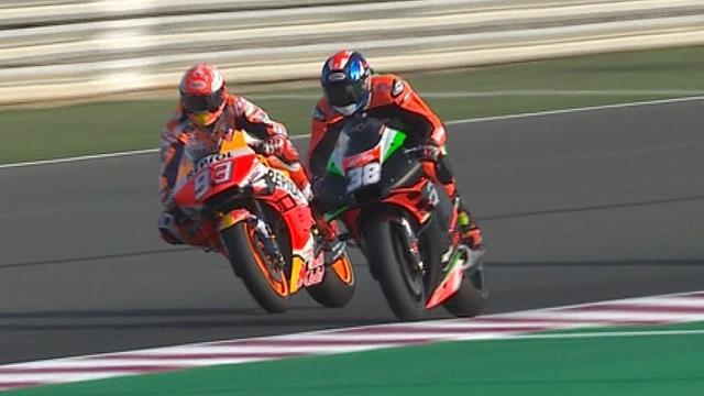 MotoGP | Marquez ondanks crash snelste in FP3