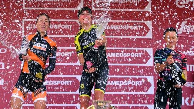 Van Vleuten soloes to victory to claim Strade Bianche