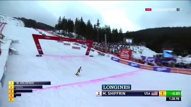 Shiffrin in trionfo nello slalom: 15esima vittoria stagionale, è record