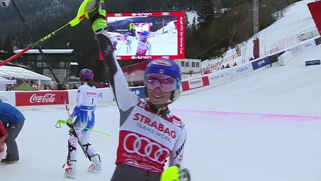 'What a run!' - See how Shiffrin set new World Cup record in Spindleruv Mlyn slalom