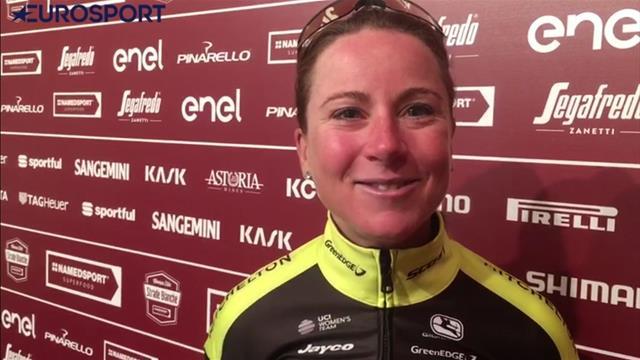 Strade Bianche | Van Vleuten had winst nog niet verwacht