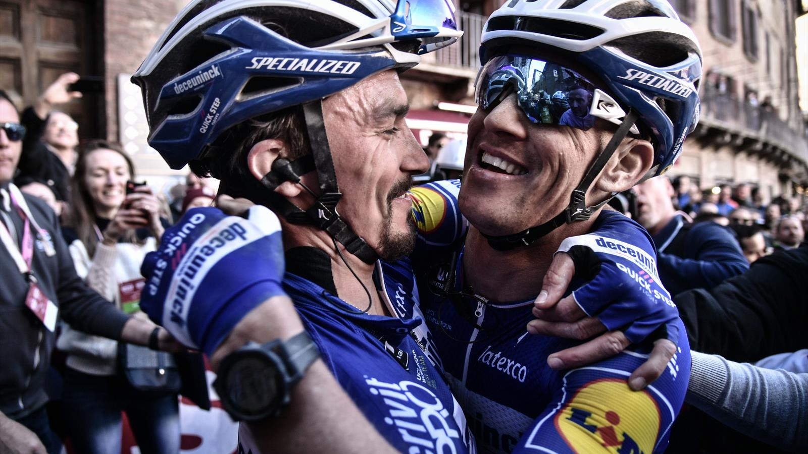 Julian Alaphilippe wins Strade Bianche as Deceuninck-QuickStep dominance continues